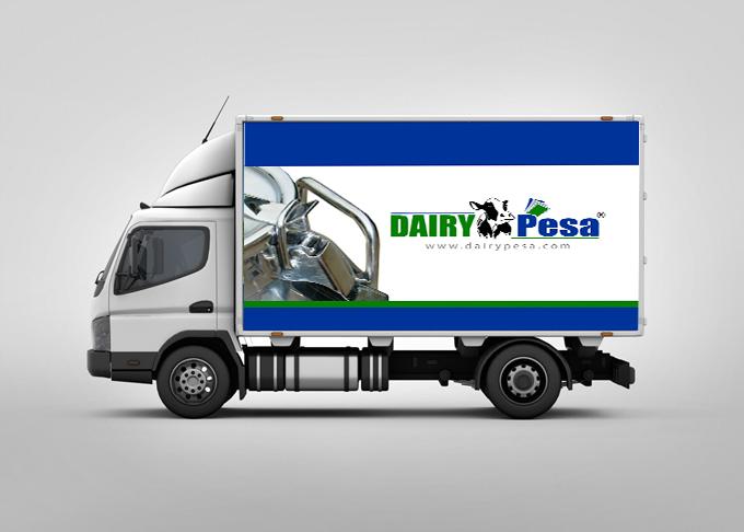 dairy pesa truck